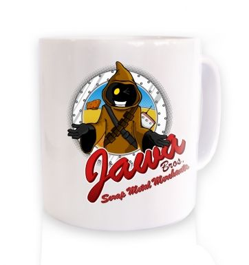 Version 2 Jawa Bros Scrap Metal Merchants mug