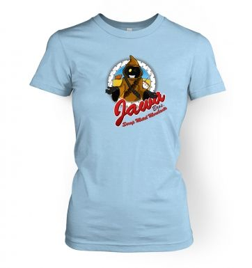 Version 2 Jawa Bros Scrap Metal Merchants women's t-shirt