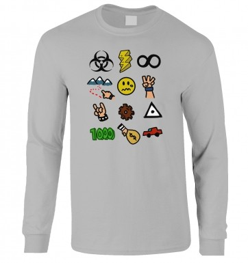 Video Game Picture Quiz long-sleeved t-shirt