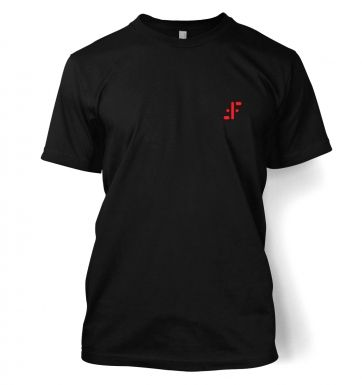 Visitor Symbol (red badge)  t-shirt