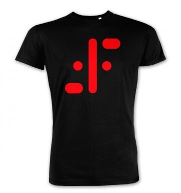 Visitor Symbol (red jumbo)  premium t-shirt