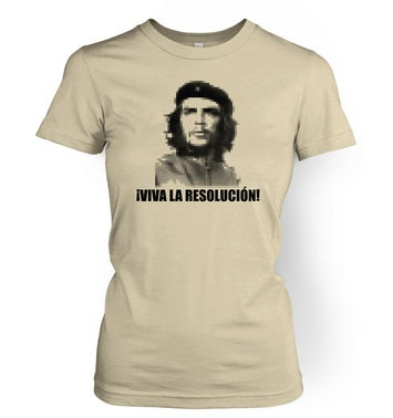Viva La Resolucion women's t-shirt