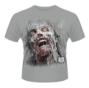 Walking Dead, The Jumbo Walker Face  Mens T-shirt