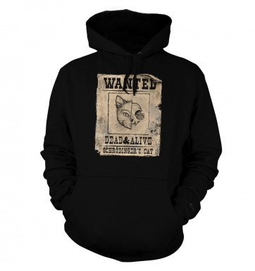 Wanted Schrodingers Cat hoodie 2014