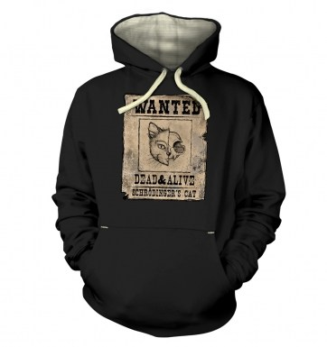 Wanted Schrodingers Cat hoodie (premium) 2014