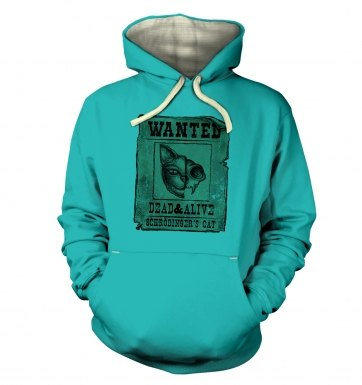 Wanted Schrodingers Cat hoodie (premium)