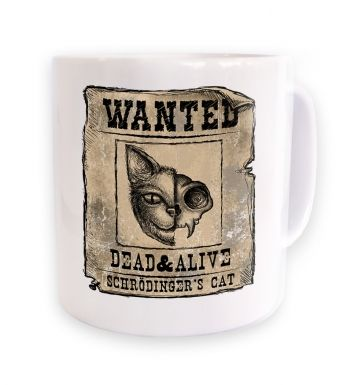 Wanted: Schrodinger's cat mug
