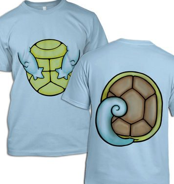 Water Pocket Monster Costume t-shirt