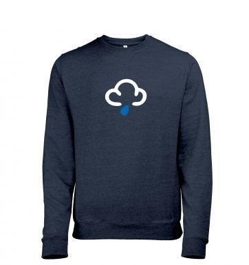 Weather Symbol Showers heather sweatshirt