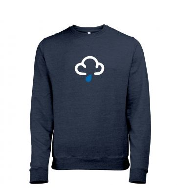 Weather Symbol Showers Adult Crewneck Sweater