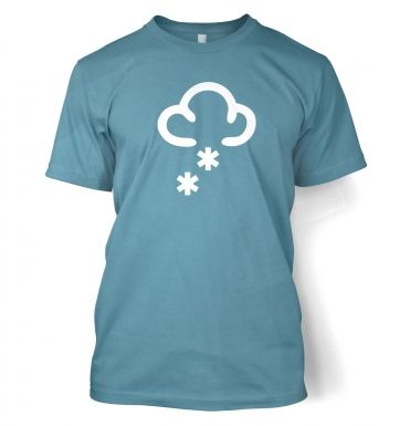 Weather Symbol Snow t-shirt