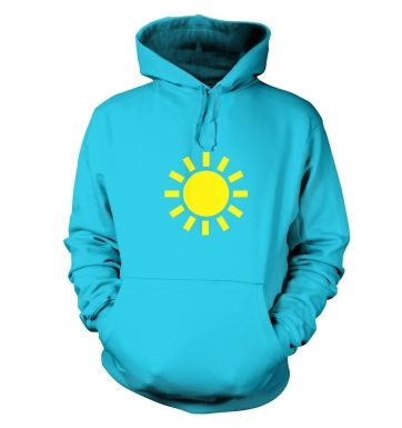 Weather Symbol Sunny hoodie