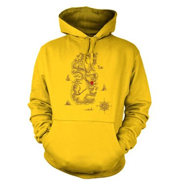 Westeros You Are Here adult hoodie