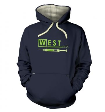 West MD HP Lovecraft hoodie (premium)