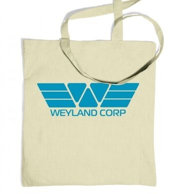 Weyland Corp (blue) tote bag