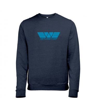 Weyland Corp (Blue) heather sweatshirt