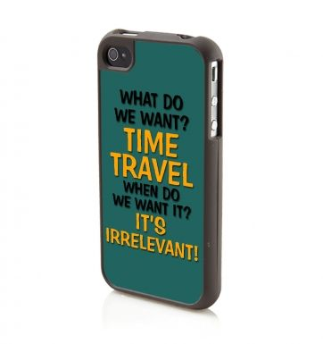 What Do We Want? Time Travel iPhone 4/4s phone case