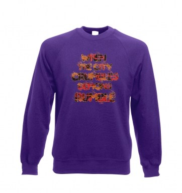 When The City Crumbles sweatshirt