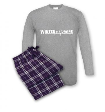 Winter Is Coming Men's Pyjamas