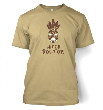 Witch Doctor Mask men's t-shirt
