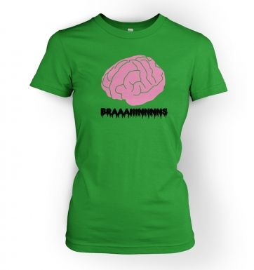 Women's Braaaains t-shirt