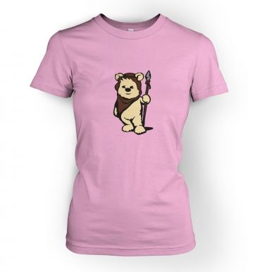 Cute Ewok women's t-shirt