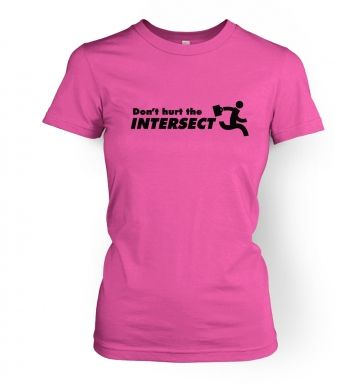 Don't Hurt The Intersect womens t-shirt