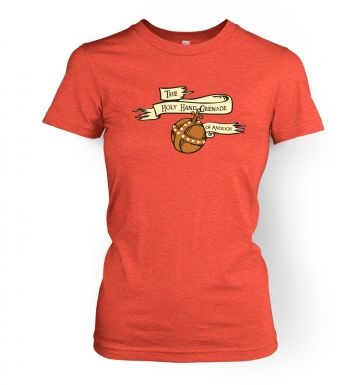 Women's Holy Hand Grenade of Antioch t-shirt
