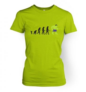 Hulk Evolution women's t-shirt