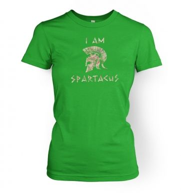 I Am Spartacus womens t-shirt