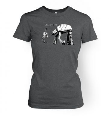 Banksy I Am Your Father women's t-shirt