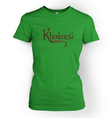 Khaleesi  (brown)womens t-shirt