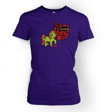 My Zombie Pony women's t-shirt