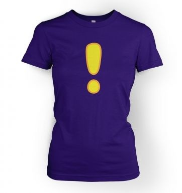 Qquest Exclamation Mark women's t-shirt