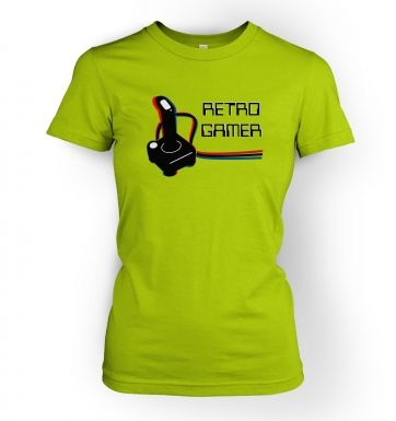 Retro Gamer  womens t-shirt