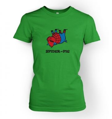 Spider Pig womens t-shirt