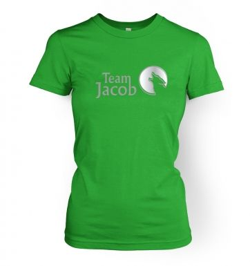 Team Jacob  womens t-shirt