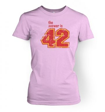 womenstheansweris42tshirt