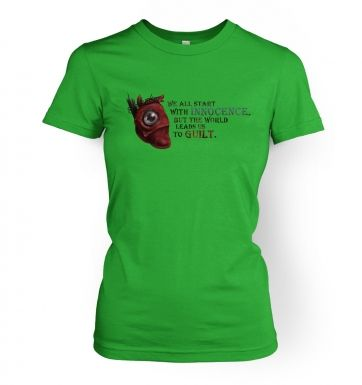Mechanical Heart  womens t-shirt