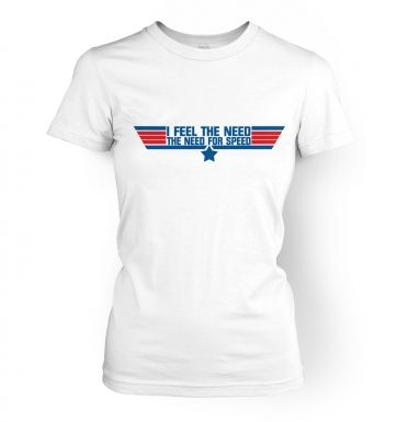 The Need For Speed womens t-shirt