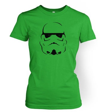 Trooper Helmet women's t-shirt