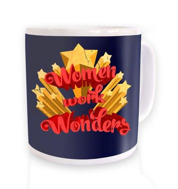 Women Work Wonders mug