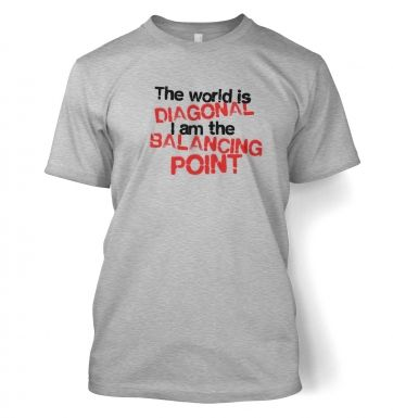 The World Is Diagonal  t-shirt