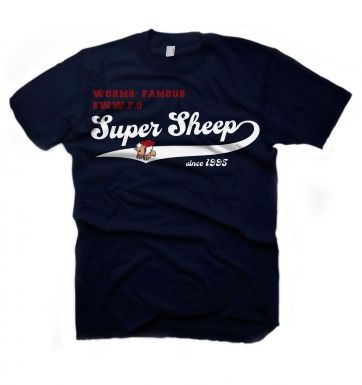 Worms Super Sheep Vintage t-shirt - OFFICIAL