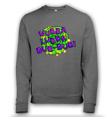 Wubba Lubba heather sweatshirt
