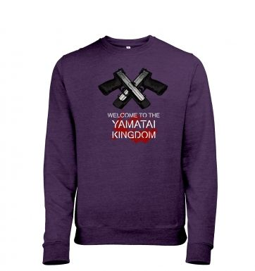 Yamatai Kingdom men's heather sweatshirt