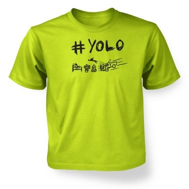 #YOLO  kids t-shirt