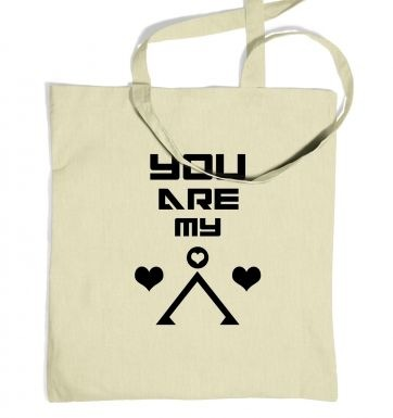 You Are My Earth tote bag