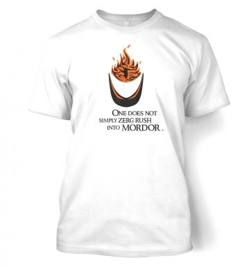 Zerg Rush into Mordor t-shirt