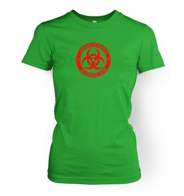 Zombie Outbreak Response Team   womens t-shirt
